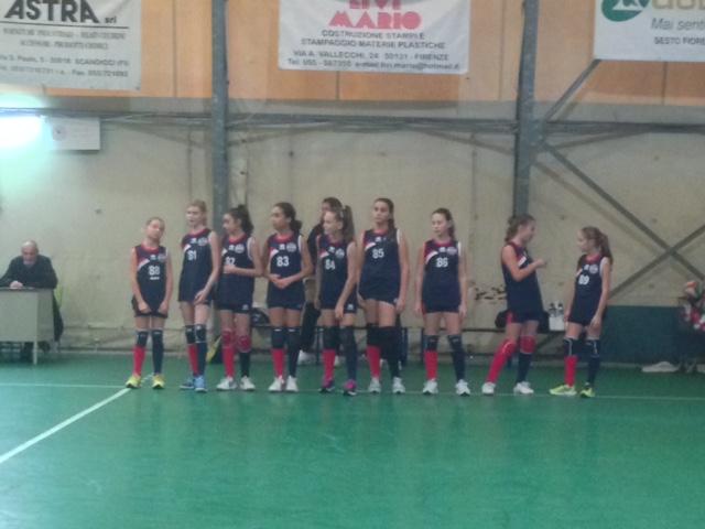 Under 13 Femminile - Girone ESab10/10/2015EURORIPOLI ROSSAVOLLEY CLUB SESTESE AZZURRA12