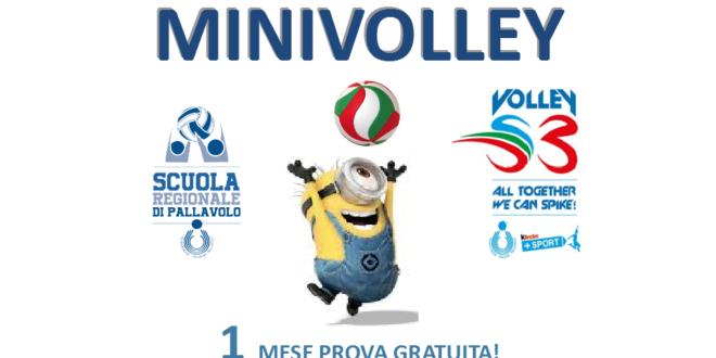 Minivolley vieni a provare gratis con noi!