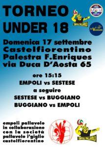 Triangolare Castelfiorentino Under 18