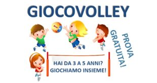 Giocovolley 3-5 anni Volley Club Sestese